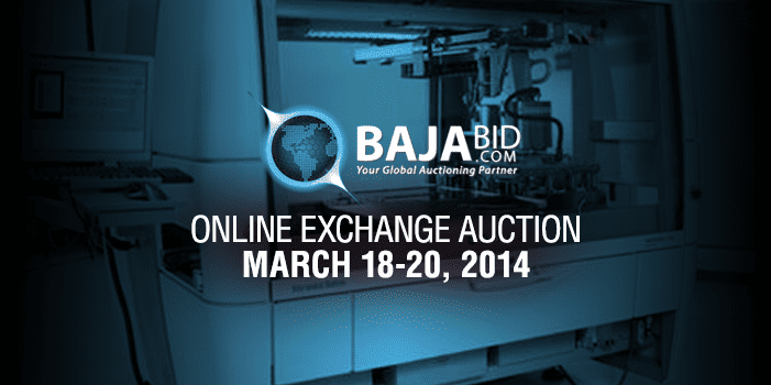 Online Exchange Auction March 2014