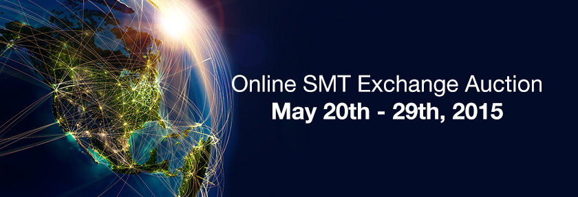 Online SMT Exchange Auction 20 -29th