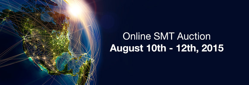 August SMT Auction 10th 12