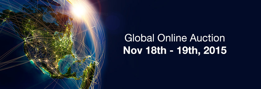 Global online auction 18th 19th