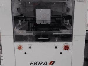 Ekra X4 Screen Printer, 2007