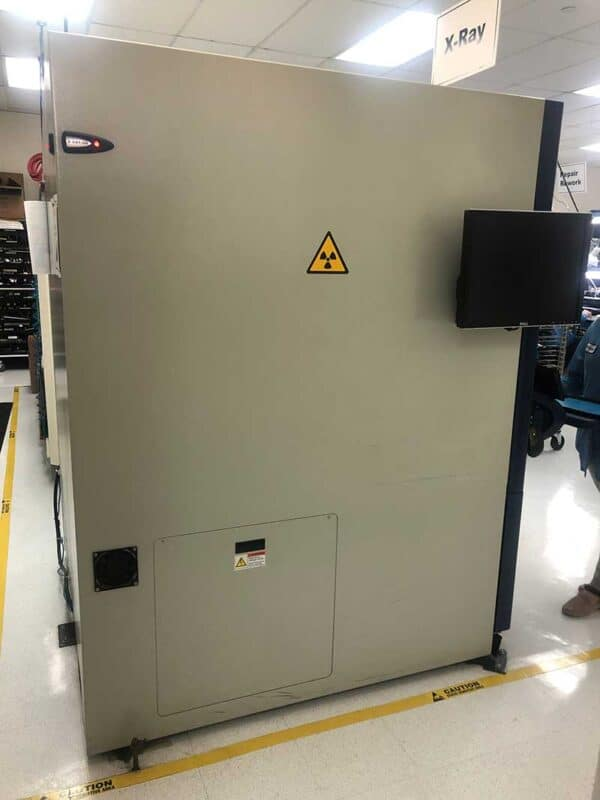 Left side of 2012 Nordson Dage XD7500NT Xray System