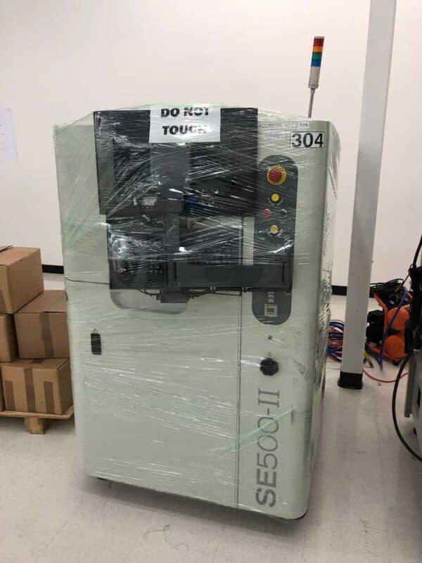 2015 CyberOptics SE500-II Solder Paste Inspection
