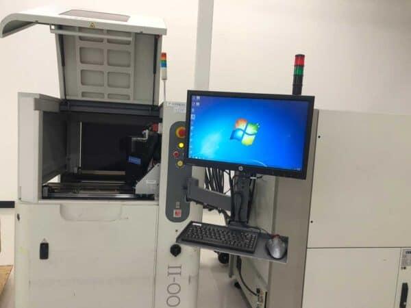 Operating Screen - 2015 CyberOptics SE500-II SPI