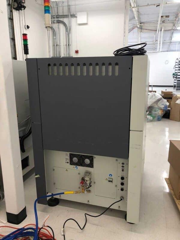 Back side of a 2015 CyberOptics SE500-II Solder Paste Inspection machine